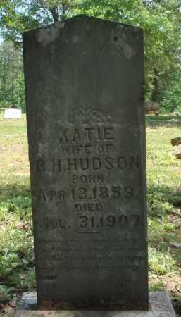 HUDSON, NANCY CATHERINE 'KATIE' - Baxter County, Arkansas | NANCY CATHERINE 'KATIE' HUDSON - Arkansas Gravestone Photos