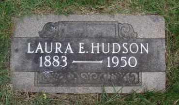 HUDSON, LAURA E. - Baxter County, Arkansas | LAURA E. HUDSON - Arkansas Gravestone Photos