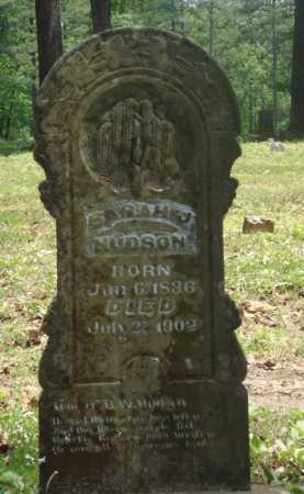 HUDSON, SARAH J. - Baxter County, Arkansas | SARAH J. HUDSON - Arkansas Gravestone Photos