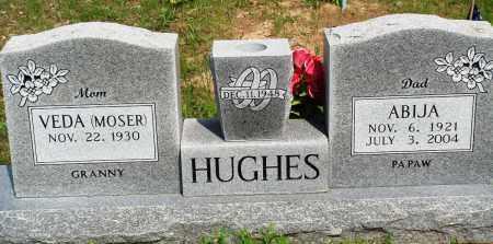 HUGHES, ABIJA - Baxter County, Arkansas | ABIJA HUGHES - Arkansas Gravestone Photos
