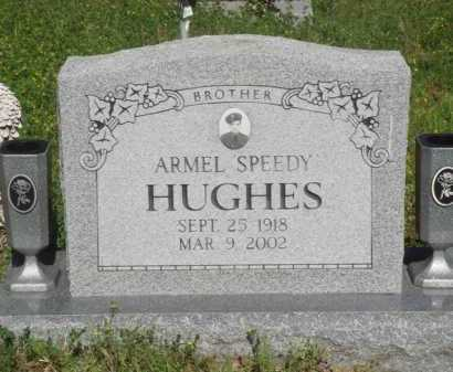 "HUGHES, ARMEL ""SPEEDY"" - Baxter County, Arkansas 