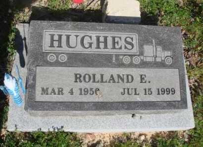 HUGHES, ROLLAND E. - Baxter County, Arkansas   ROLLAND E. HUGHES - Arkansas Gravestone Photos