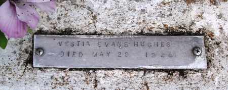 HUGHES, VESTIA - Baxter County, Arkansas | VESTIA HUGHES - Arkansas Gravestone Photos