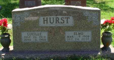 HURST, ELMO - Baxter County, Arkansas | ELMO HURST - Arkansas Gravestone Photos