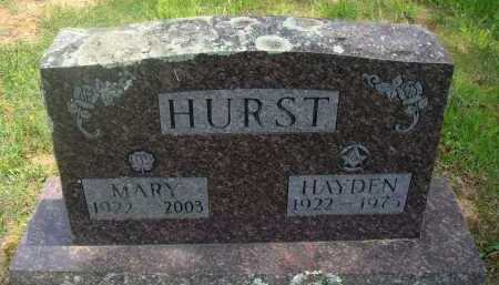 HURST, MARY - Baxter County, Arkansas | MARY HURST - Arkansas Gravestone Photos