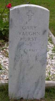 HURST (VETERAN), GARY VAUGHN - Baxter County, Arkansas | GARY VAUGHN HURST (VETERAN) - Arkansas Gravestone Photos