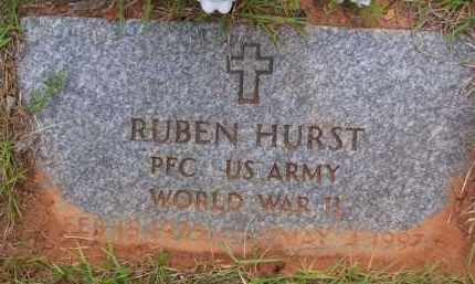 "HURST (VETERAN WWII), RUBEN ""MAC"" - Baxter County, Arkansas 