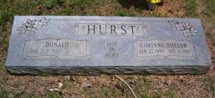 SHELOR HURST, WANDA CORINNE - Baxter County, Arkansas | WANDA CORINNE SHELOR HURST - Arkansas Gravestone Photos