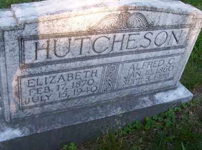 HUTCHESON, ALFRED C - Baxter County, Arkansas | ALFRED C HUTCHESON - Arkansas Gravestone Photos