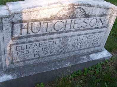 HUTCHESON, ELIZABETH - Baxter County, Arkansas | ELIZABETH HUTCHESON - Arkansas Gravestone Photos