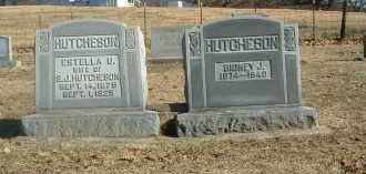 HUTCHESON, SIDNEY - Baxter County, Arkansas | SIDNEY HUTCHESON - Arkansas Gravestone Photos