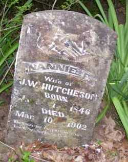 HUTCHESON, NANNIE E. - Baxter County, Arkansas | NANNIE E. HUTCHESON - Arkansas Gravestone Photos