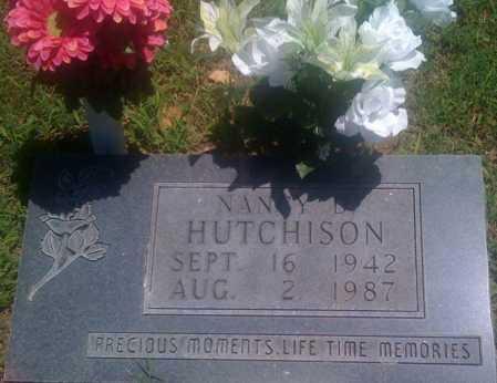 HUTCHISON, NANCY D. - Baxter County, Arkansas | NANCY D. HUTCHISON - Arkansas Gravestone Photos