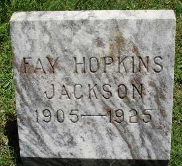 JACKSON, FAY - Baxter County, Arkansas | FAY JACKSON - Arkansas Gravestone Photos