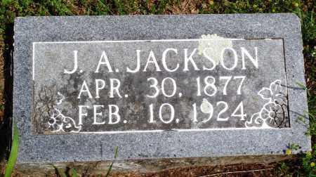 JACKSON, J A - Baxter County, Arkansas | J A JACKSON - Arkansas Gravestone Photos