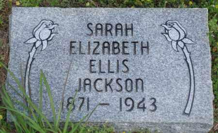 ELLIS JACKSON, SARAH ELIZABETH - Baxter County, Arkansas | SARAH ELIZABETH ELLIS JACKSON - Arkansas Gravestone Photos