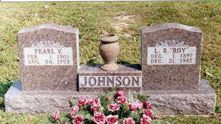 JOHNSON, PEARL V. - Baxter County, Arkansas | PEARL V. JOHNSON - Arkansas Gravestone Photos