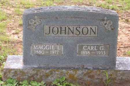 JOHNSON, CARL G. - Baxter County, Arkansas | CARL G. JOHNSON - Arkansas Gravestone Photos