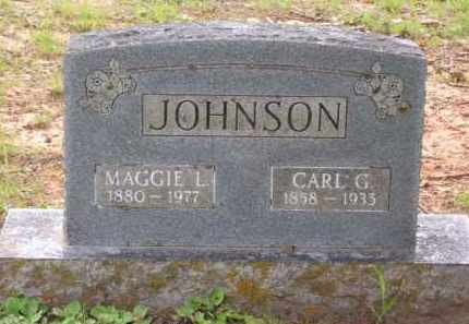 SANDERS JOHNSON, MAGGIE L. (OBIT) - Baxter County, Arkansas | MAGGIE L. (OBIT) SANDERS JOHNSON - Arkansas Gravestone Photos