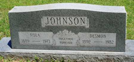 THOMPSON JOHNSON, NOLA - Baxter County, Arkansas | NOLA THOMPSON JOHNSON - Arkansas Gravestone Photos