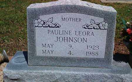 JOHNSON, PAULINE LEORA - Baxter County, Arkansas | PAULINE LEORA JOHNSON - Arkansas Gravestone Photos