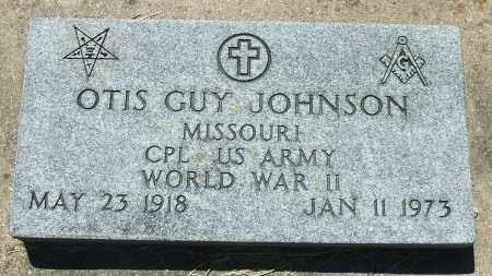JOHNSON (VETERAN WWII), OTIS GUY - Baxter County, Arkansas | OTIS GUY JOHNSON (VETERAN WWII) - Arkansas Gravestone Photos