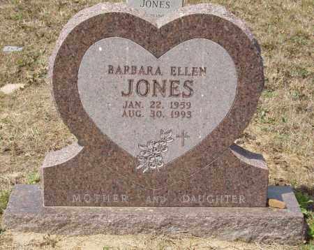 JONES, BARBARA ELLEN - Baxter County, Arkansas | BARBARA ELLEN JONES - Arkansas Gravestone Photos