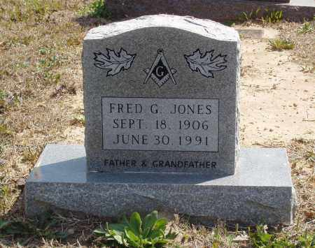 JONES, FRED G - Baxter County, Arkansas | FRED G JONES - Arkansas Gravestone Photos