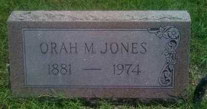 JONES, ORAH M. - Baxter County, Arkansas | ORAH M. JONES - Arkansas Gravestone Photos