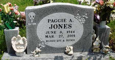 JONES, PAGGIE A - Baxter County, Arkansas | PAGGIE A JONES - Arkansas Gravestone Photos