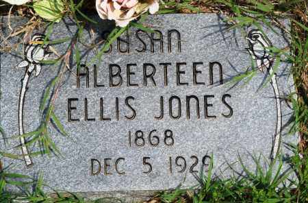 ELLIS JONES, SUSAN ALBERTEEN - Baxter County, Arkansas | SUSAN ALBERTEEN ELLIS JONES - Arkansas Gravestone Photos