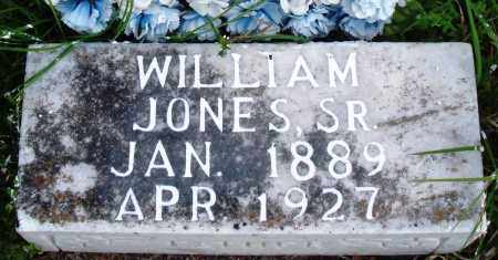 JONES, SR, WILLIAM - Baxter County, Arkansas | WILLIAM JONES, SR - Arkansas Gravestone Photos
