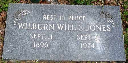 JONES, WILBURN WILLIS - Baxter County, Arkansas | WILBURN WILLIS JONES - Arkansas Gravestone Photos
