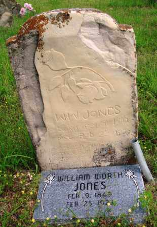 JONES, WILLIAM WORTH - Baxter County, Arkansas | WILLIAM WORTH JONES - Arkansas Gravestone Photos