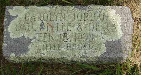 JORDAN, CAROLYN - Baxter County, Arkansas | CAROLYN JORDAN - Arkansas Gravestone Photos