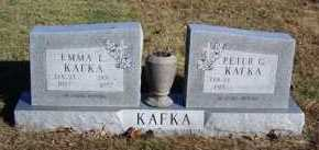 DENTON KAFKA, EMMA E. - Baxter County, Arkansas | EMMA E. DENTON KAFKA - Arkansas Gravestone Photos