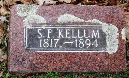 KELLUM, S F - Baxter County, Arkansas | S F KELLUM - Arkansas Gravestone Photos