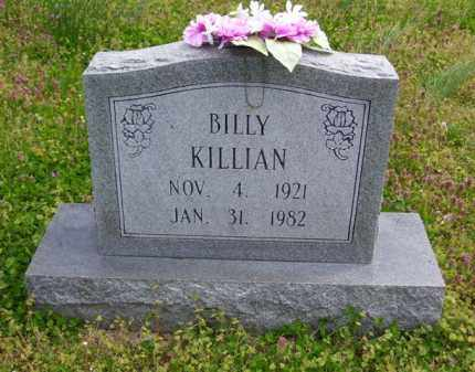 KILLIAN, BILLY - Baxter County, Arkansas | BILLY KILLIAN - Arkansas Gravestone Photos