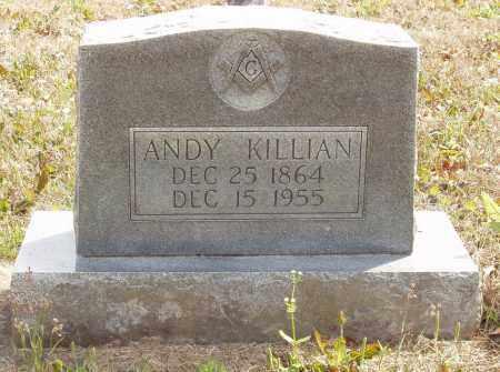 KILLIAN, ANDY - Baxter County, Arkansas | ANDY KILLIAN - Arkansas Gravestone Photos