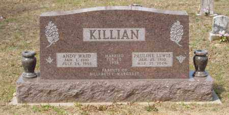 KILLIAN, PAULINE - Baxter County, Arkansas | PAULINE KILLIAN - Arkansas Gravestone Photos