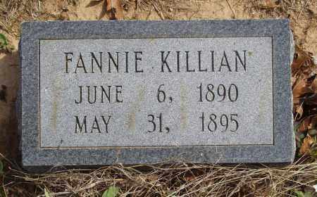 KILLIAN, FANNIE - Baxter County, Arkansas | FANNIE KILLIAN - Arkansas Gravestone Photos