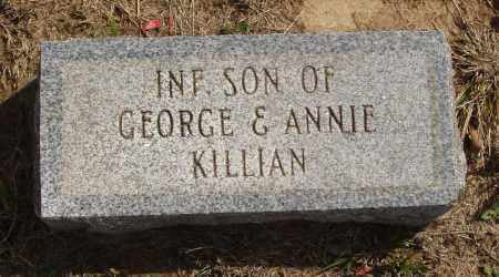 KILLIAN, INFANT SON - Baxter County, Arkansas | INFANT SON KILLIAN - Arkansas Gravestone Photos