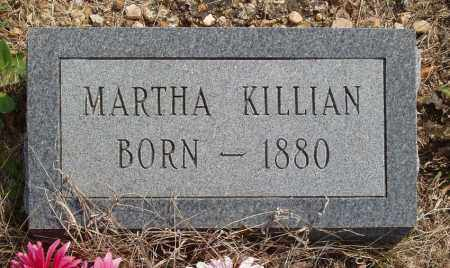 KILLIAN, MARTHA - Baxter County, Arkansas | MARTHA KILLIAN - Arkansas Gravestone Photos