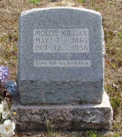 KILLIAN, MOLLIE - Baxter County, Arkansas | MOLLIE KILLIAN - Arkansas Gravestone Photos
