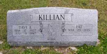 KILLIAN (VETERAN WWII), DAVE E - Baxter County, Arkansas | DAVE E KILLIAN (VETERAN WWII) - Arkansas Gravestone Photos