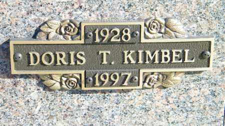 KIMBEL, DORIS T. - Baxter County, Arkansas | DORIS T. KIMBEL - Arkansas Gravestone Photos