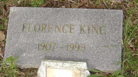 KING, FLORENCE - Baxter County, Arkansas | FLORENCE KING - Arkansas Gravestone Photos