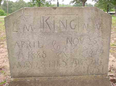 SPENCER KING, L. M. - Baxter County, Arkansas | L. M. SPENCER KING - Arkansas Gravestone Photos