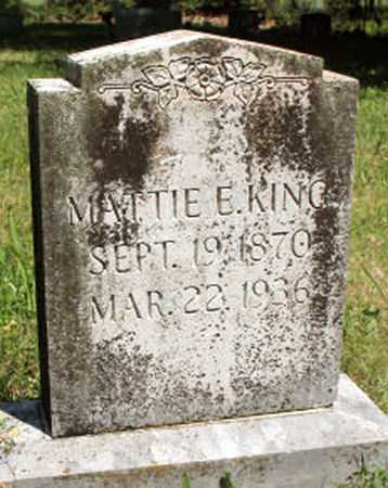 KING, MATTIE - Baxter County, Arkansas | MATTIE KING - Arkansas Gravestone Photos