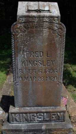 KINGSLEY, FRED L. - Baxter County, Arkansas | FRED L. KINGSLEY - Arkansas Gravestone Photos
